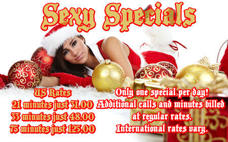 kinky phone sex specials